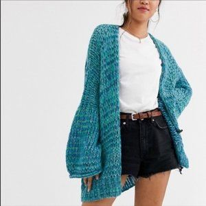 Free People Home Town Cardigan Sweater Small NWT